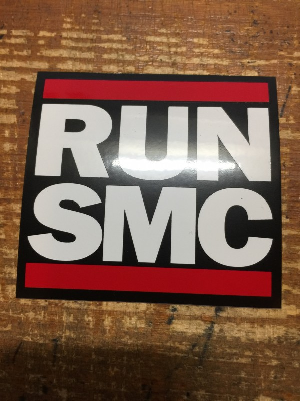 RUN SMC STICKER