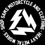 SHOP SAMS MOTORCYCLE AND CLOTHING�EHEAVY METAL WORKS